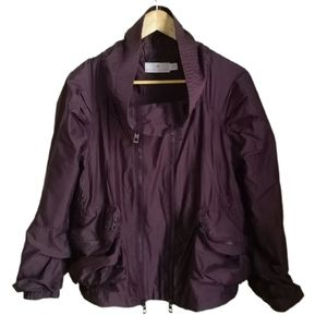 ADIDAS STELLA McCARTNEY Double Zip Raincoat Jacket